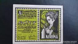 Amatőrök 1 Korona Bp.1920.