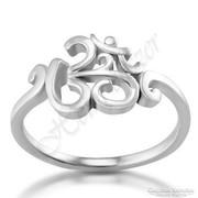 AUM gyűrű, ezüst ékszer