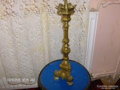 Antik bronz gyertyatarto