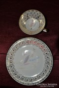 Bavaria csésze és egy tányér  ( 001 )