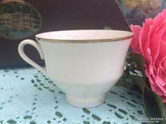 Csontszínű Bareuther Bavaria vékony porcelán csésze