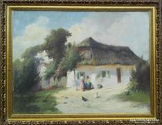 Ács Ágoston eredeti festménye garanciával