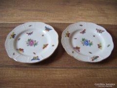 Antik Herendi emlék tányérkák