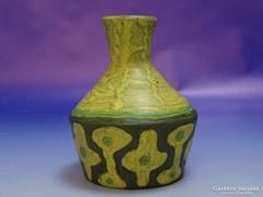 0I569 Jelzett Gorka Lívia kerámia váza 12 cm