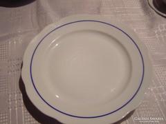 Kék csikos zsolnay tányér