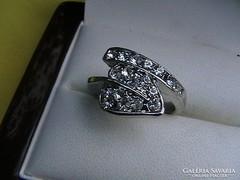 'Filléres' swarovski kristályos gyűrű 4