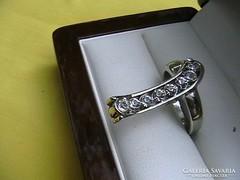 'Filléres' swarovski kristályos gyűrű 5