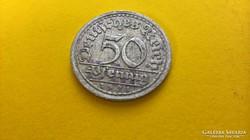50 pfennig 1921 F.