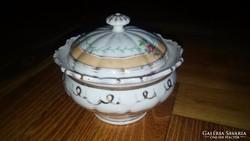 Eladó díszes porcelán tároló doboz