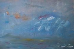 Rubint Ávrahám Péter (1958-): A kék