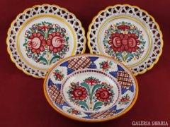 Kerámia fali tányérok GYŰJTEMÉNY
