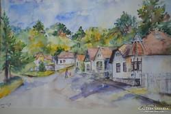 Csiszár Erzsébet (1949-): Zebegényi utca