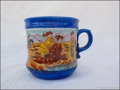 Kínai jelenetes porcelán csésze