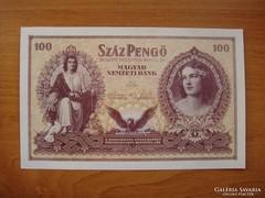 ***  UNC állapotú 1943-as Szálasi 100 pengő ***