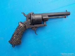 Belga gyúpeckes pisztoly az 1800-as évek 2. feléből