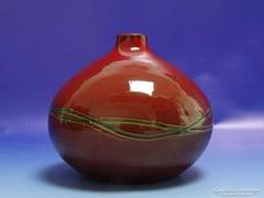 0I621 Retro kerámia váza 13 cm