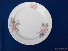 Zsolnay virágos desszertes tányér