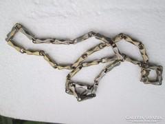 Acél barokk ffi nyaklánc