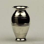Ezüst váza dísztárgy