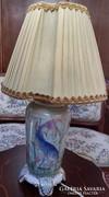Hal mintás porcelán lámpa