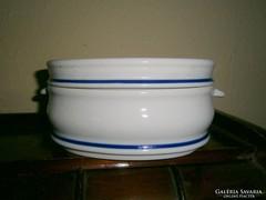Zsolnay ételtartó  kocsonyás tányér fedéllel