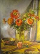 V191 Stéhlik Lajos asztali virágcsendélet