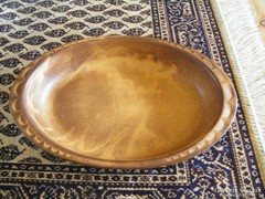 Kerámia sütő vagy tálaló tál,  30 x 20 cm