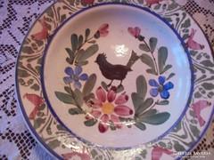 Kakasos tányér