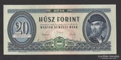 20 forint 1960.  aUNC!!!  GYÖNYÖRŰ!!!  RITKA!!!