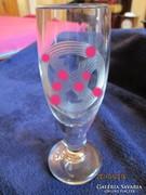 II. vh német pezsgős pohár