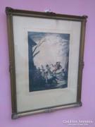 1930 Viday Brenner Nándor Színes réz karc