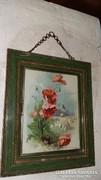 Antik háromrészes pipere tükör
