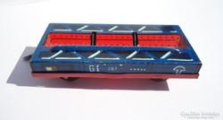 Tartály szállító lemez vonat