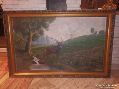 Valkovics olaj-vászon festmény