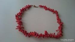 Korall nyaklánc 35.5 cm