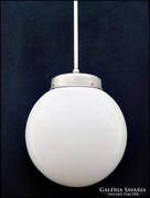 Bauhaus gömb függő lámpa , extra méretű rétegelt bura !