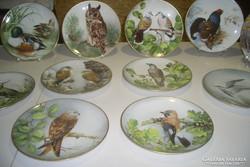 Ritka Antik 12db.Francia Limoges limitált porcelán dísztálak