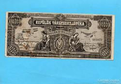 Repülők Tárgysorsjáték 1926 10.000 Korona