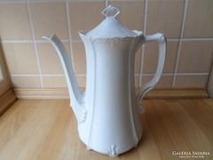 Hutschenreuther Bavaria Baronesse fehér porcelán kiöntő
