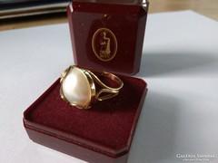 Arany gyűrű 14 kr 6.5gr