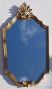 Neobarokk fali tükör.Kecses díszes darab! 67cm!!