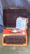 Brother deluxe 220 mechanikus japán táskaírógép