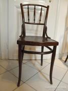Thonet szék, dombornyomott, párban, 2 db, szép állapotban