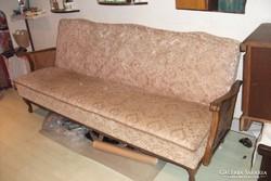 Antik nyitható thonethálós kanapé eladó!