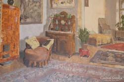 Biai- Föglein István (1905-1974): Enteriőr
