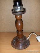 Retro fa lámpatest (g)
