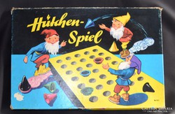 Régi, ritka Hütchen-spiele ügyességi játék 1950
