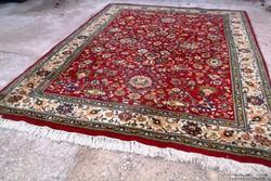 Indiai kézi csomózású gyapjú szőnyeg! Fantasztikus darab!