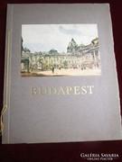 LEPORELLÓ BUDAPEST LÁTKÉPEK ALBUM NAGY 1928 festmény litográ