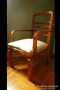 Antik art deco fotelpár karosszék fotel + asztal